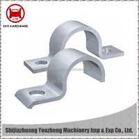 Stainless Steel Heavy Pipe Saddle Clamps