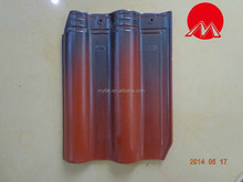 concrete roof tile with multiple colors