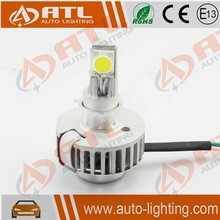 Latest hi/lo 2000lm motorcycle front headlight, motorcycle parts headlight, car acceories led motoycle headlight