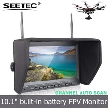 10.1 inch 5.8ghz rf transmitter fpv hdmi monitor camera rc drone helicopter