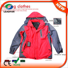 HJ08 7.4v Heated Winter new design coat/clothes women winter coats ladies coats