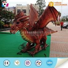 Wildlife model outdoor playground robotic dragon