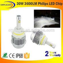 30w 3600lumen car led headlight integration led headlight power zoom led headlight