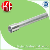 hot dipped galvanized rigid steel conduit pipe, electrical gi conduit price
