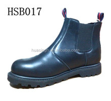 SY,Australia popular puncture resistant safety steel toe insert black working boots pull on dealer