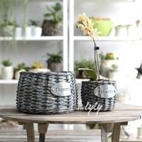cheap wicker indonesia bugil foto gadis artis flower pot