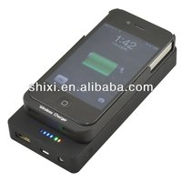 QI Standard Wireless Charger With 5000mAh Power Bank for Nokia Lumia 820 920 Google Nexus 4 Nexus 5 for iPhone 5 5C 5S iPhone 4