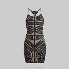 أعلى جودة عالية بيع فستان ضيق جنسي مثير قطع كامل