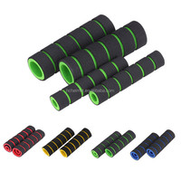 4pcs/set Motorcycle Handlebar Grips Fixed Gear Fixie Handle Bar End Grips Foam Cover motorcycle Parts