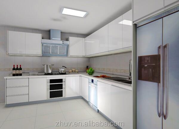 Mdf White Kitchen Cabinet Fiber Kitchen Cabinet Mdf Kitchen Cabinet