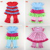 2015 summer baby clothes and pants sets baby dress for 1-6years baby dress