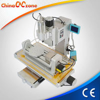 Cross Slippery Platform 3040 5 Axis Mini MDF Router Table