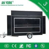 FV-55 best mobile fryer food car tricycle with food cart new style mobile food kiosk