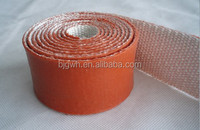 Fire retardent Silicone Fiberglass Sleeves 1200V VW-1 200C Insulation tape
