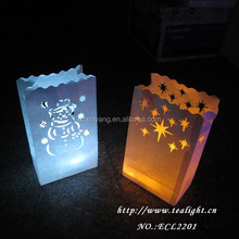Newest Design Cheap wholesale Luminary Candle Bag Party Decoration