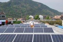 5kw 10kw diseño sistema de energía solar/solar residencial sistemas de energía para uso doméstico