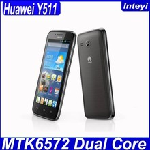 Original 4.5inch Huawei Y511 Dual Core Android4.2 WIFI GPS mobile phone China Brand in stock
