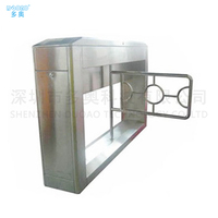 304 316 Stainless Steel Fully automatic swing barrier gate turnstile access control system