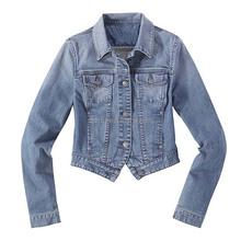 2015 wholesale fashion women denim jacket