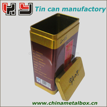 High quality tin can for green tea/black tea/tea bag