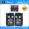 2.0 professional powered DJ speakers With USB/SD/FM/EQ/ color lights( bluetooth function optional)