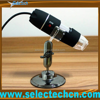 New Design 2.0M 500x student microscope With Measure tools and 8 LED lights SE-DM-500X