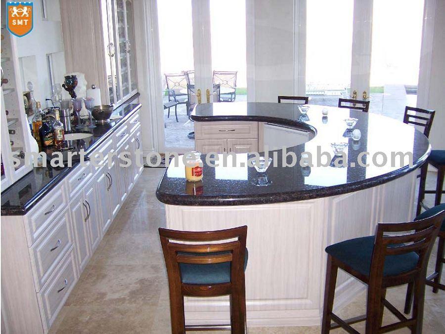 Prefab Kitchen Granite Countertops-tan Brown - Buy Granite Countertops ...