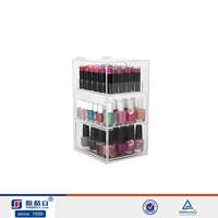 acrylic cosmetic cabinet/plexiglass makeup display showcase