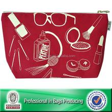 Bulk canvas zipper cosmetic bags