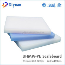 Boron added UHMWPE plate for against nuclear and medical radiation