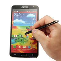 Overvalue Black Touch Screen Stylus Replacement for Samsung Galaxy Note 2 N7100 T889 Writing Pen