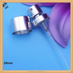 New design 20mm crimp pump mist sprayer three dots with collar