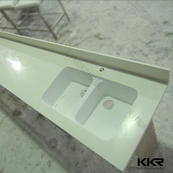 Polymeerbeton hars acryl stevige oppervlakte keuken boven werkbladen ijdelheid tops - Kleine ijdelheid ...