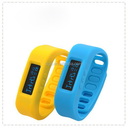 Wristband Pedometer Activity Tracker OLED Watch,Counting Calorie Fashional Wireless Bluetooth Bracelet Watch 2015