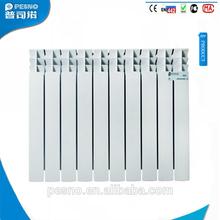 600mm oem de marca de alta calidad manual deinterioritaliano de aluminio hvac piezas del radiador