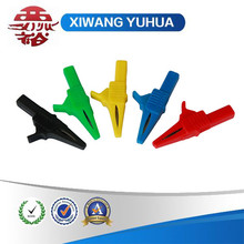 5 colors high-quality whole sealing safety nylon housing crocodile clip alligator clamp