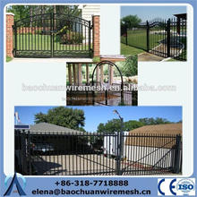 2015 Anping Baochuan stainless steel main gate design for homes