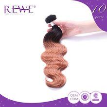 Custom Tag Real Human Hair Feria Bronze Kaijoe Hair Dye Color Sample Ring
