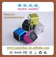 MUSIC ANGEL JH-MD07U Offer distributorship best portable laptop mini speakers lcd alarm clock