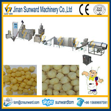 Good quality small scale puffed food making equipment