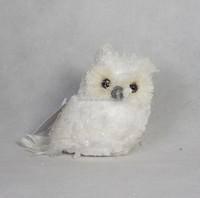New style tree ornament snow owl decoration wholesale