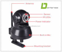 2104 New IP Video Camera Mega 720P Two Way Audio 10 LEDs Night Vision 3MP IR PT CameraHigh Speed CPU PT Camera