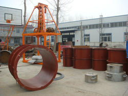 Shengya 500mm Diameter Concrete Drain Pipe Machine / cement tube making machine made in china