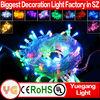 10M 100leds outdoor laser light christmas decoration rgb led christmas string lights