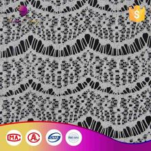 Color Solid Jacquard Embroidery Designs Flower Lace Curtain