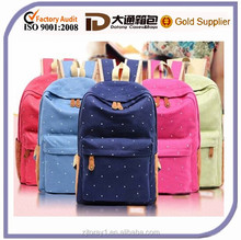 2014 china manufactures cheap canvas Backpack