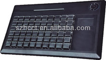 POS Programmable bluetooth soft-touch keyboard with usb port with mechanical switches---KB60
