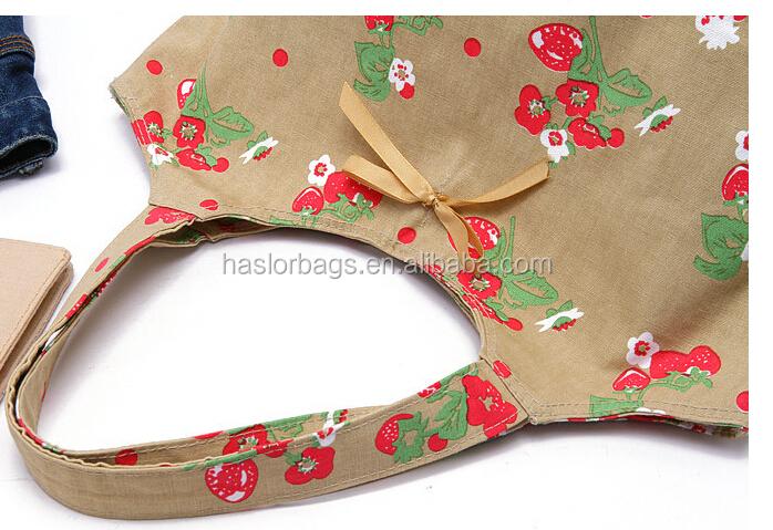 Mode LKinen sac avec l'impression de fleurs