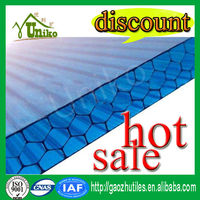 plastic honeycomb polycarbonate sheet