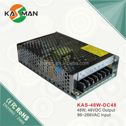 48V High Quality CCTV Battery Power Supply Switching KAS-48W-48